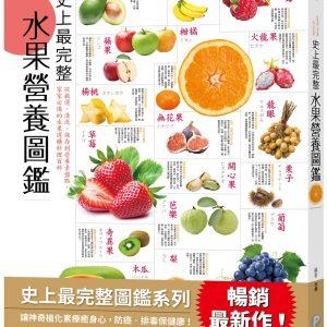 史上最完整水果營養圖鑑:從挑選、清洗、保存到營養素盤點,家家必備的水果選購料理大百科!