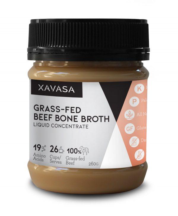 【Xavasa】新西兰胶原蛋白牛骨汤浓缩液 Grass-Fed Beef Bone Broth Concentrate - Original