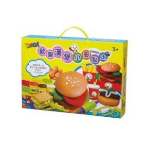 歡樂漢堡小麥黏土-FOOD超人
