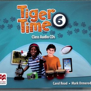 Tiger Time (6) Class Audio CDs/4片(MP3)