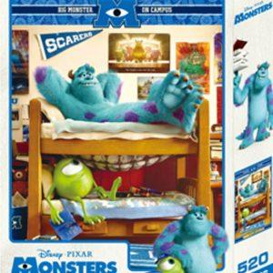 怪獸大學 520片盒裝拼圖(B)