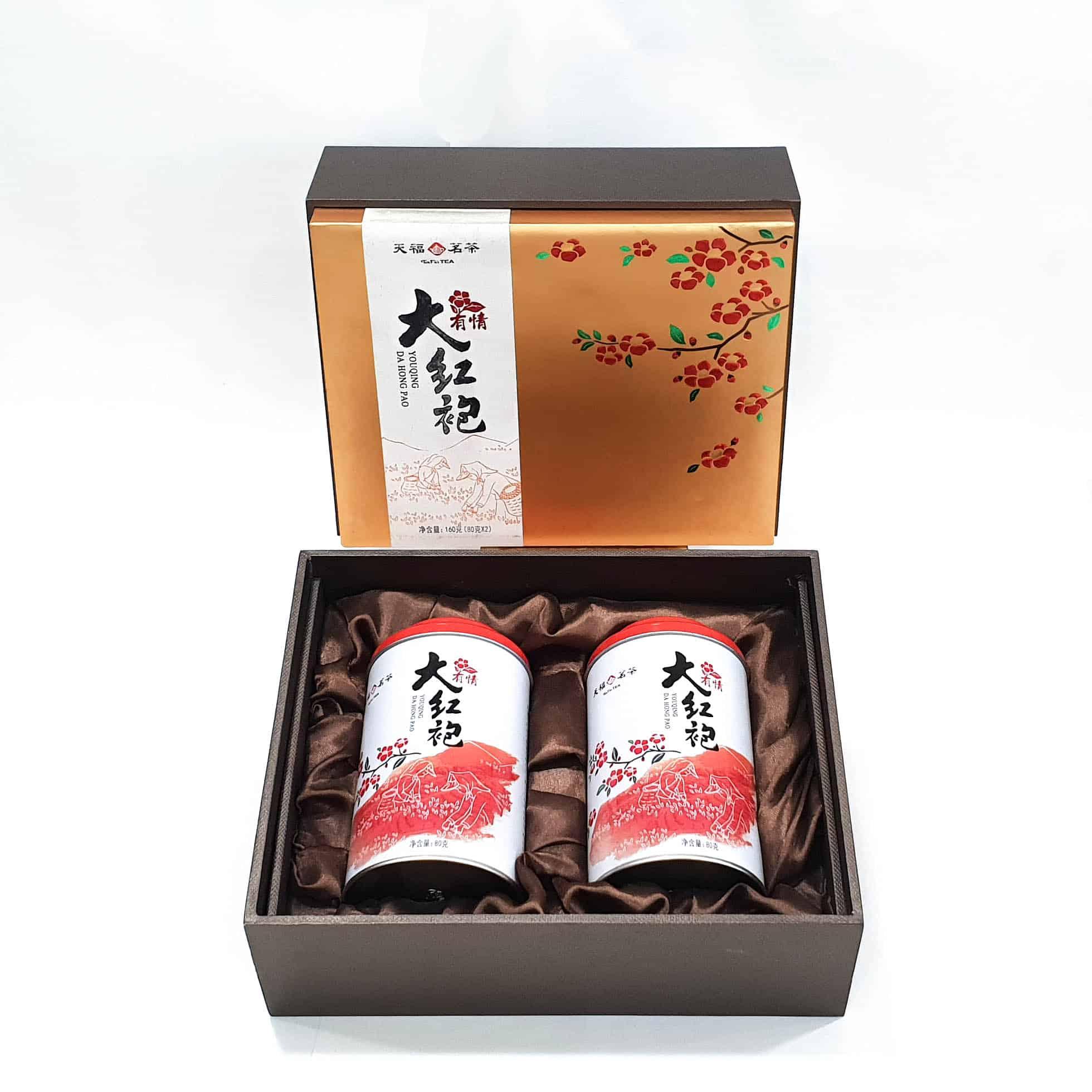 大紅袍禮盒 (160 g)