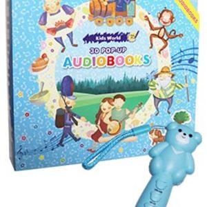 3D Pop-Up Audio Books (6本)+ 8g 小熊筆
