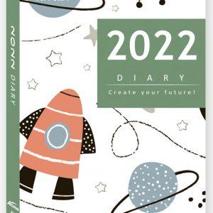 2022年彩色工商日誌48K